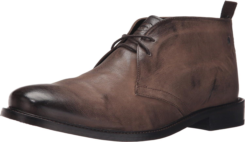 Base London Roop Mink Leather Men's Lace-up Boots