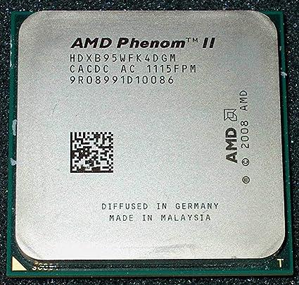 Amazon Com Amd Phenom Ii X4 B95 3 0ghz 4x512kb 6mb L3 Socket Am3