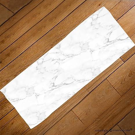 VROSELV Custom Toalla Suave y cómodo Playa Towel-Marble Textura Abstracta patrón de Fondo con