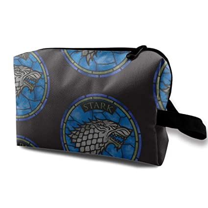 Bolsa de cosméticos para el bolso, Corazón del tatuaje con alas y ...