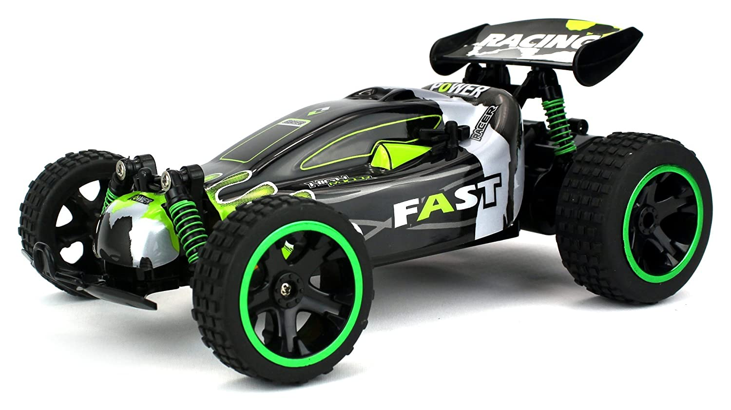Power Baja Remote Control RC Buggy 2.4 GHz PRO System 1:18 Scale