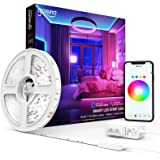 Smart LED Strip Lights Gosund Smart Tape Light Works with Alexa Google Home16.4feet, APP Control, Sync with Music, 5050…
