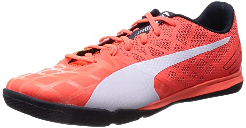 Puma Evospeed 4.4 IT, Calcio Scarpe da Allenamento Uomo, Arancione (Orange (Lava Blast-White-Total Eclipse 01)), 44
