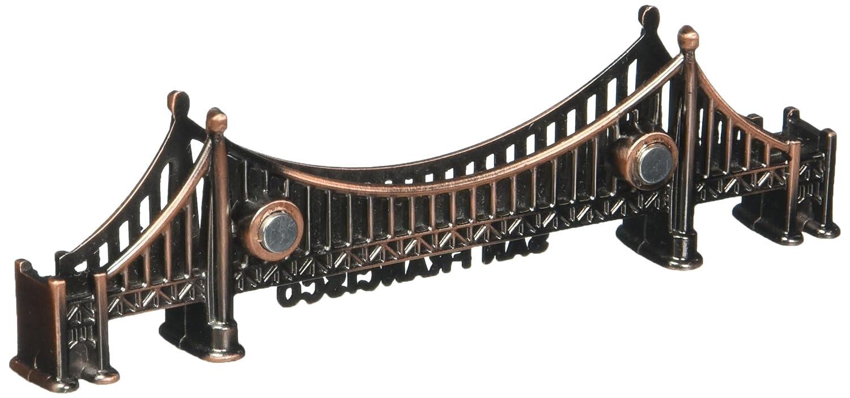 Amazon.com: Puente dorado Gate de San Francisco Bronce Imán ...
