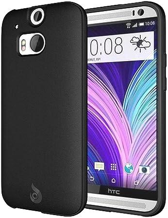 Amazon.com: diztronic – Carcasa flexible de TPU para HTC One ...