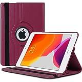 Microsonic Apple iPad 10.2'' 7. Nesil (A2197-A2200-A2198) Kılıf 360 Rotating Stand Deri Mor