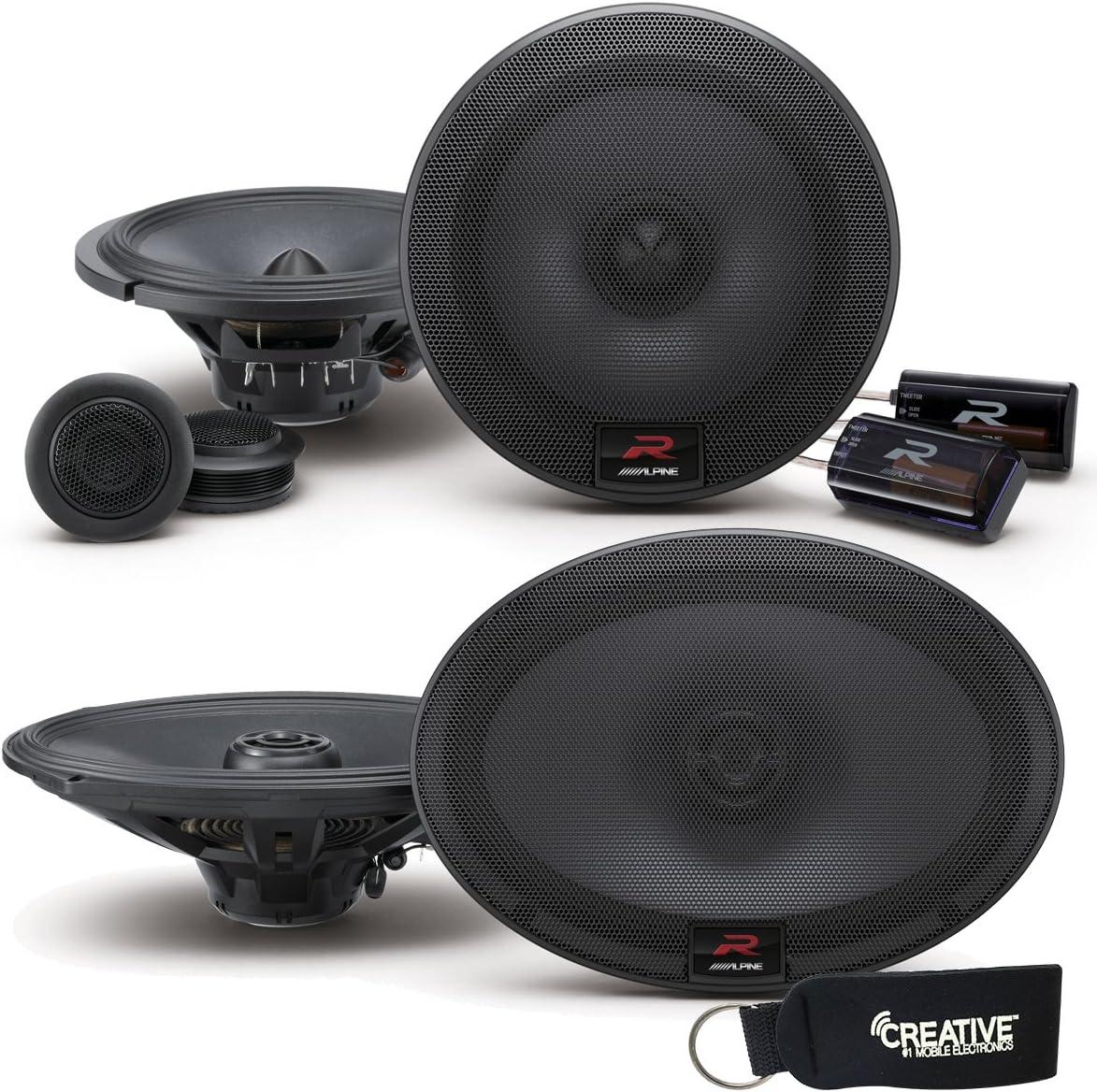 Alpine R-Series Bundle: Best budget 6.5 component speakers