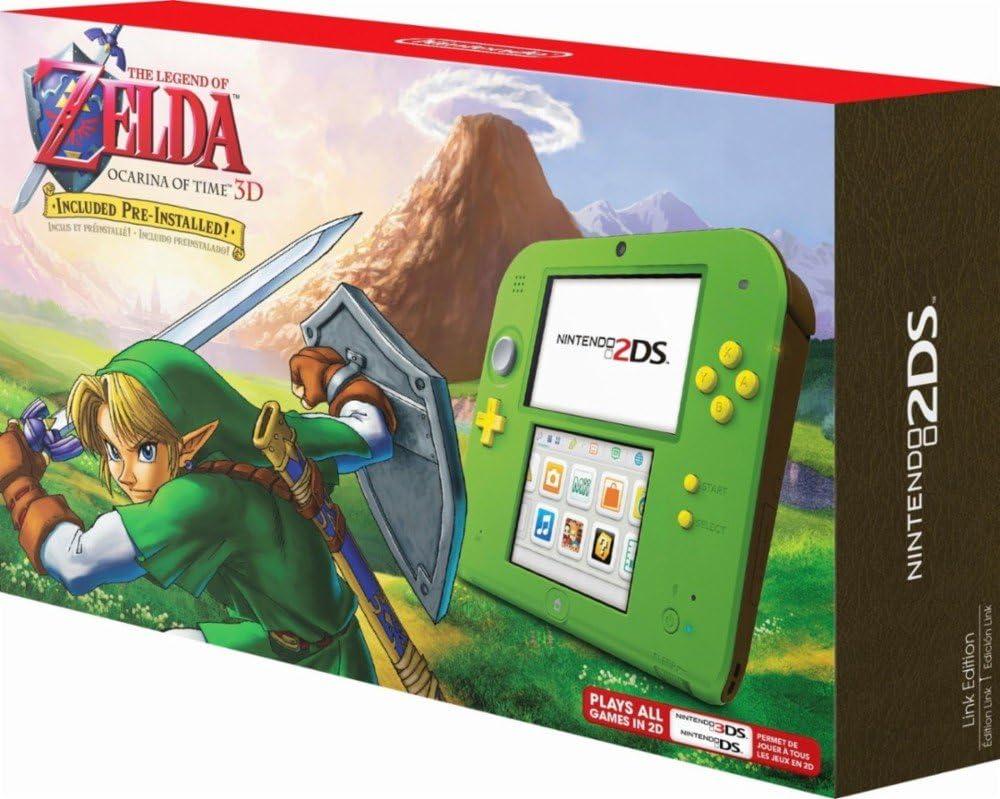 Nintendo 2DS – Legend of Zelda Ocarina of Time 3D