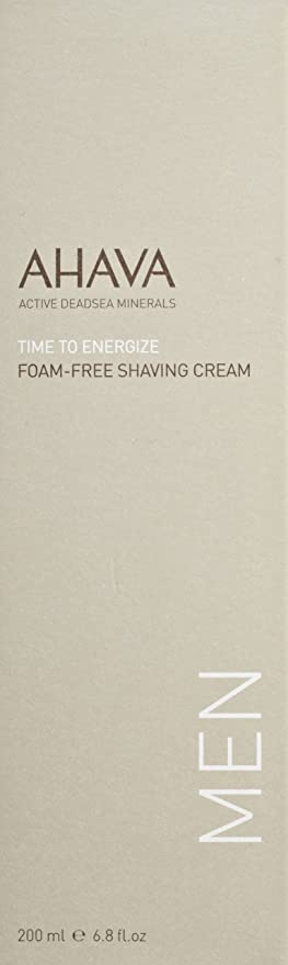 AHAVA Time to Energize Foam-Free Shaving Cream for Men, 6.8 fl. oz. Jurlique Purely White Skin Brightening Day Cream Spf30 40ml/1.3oz