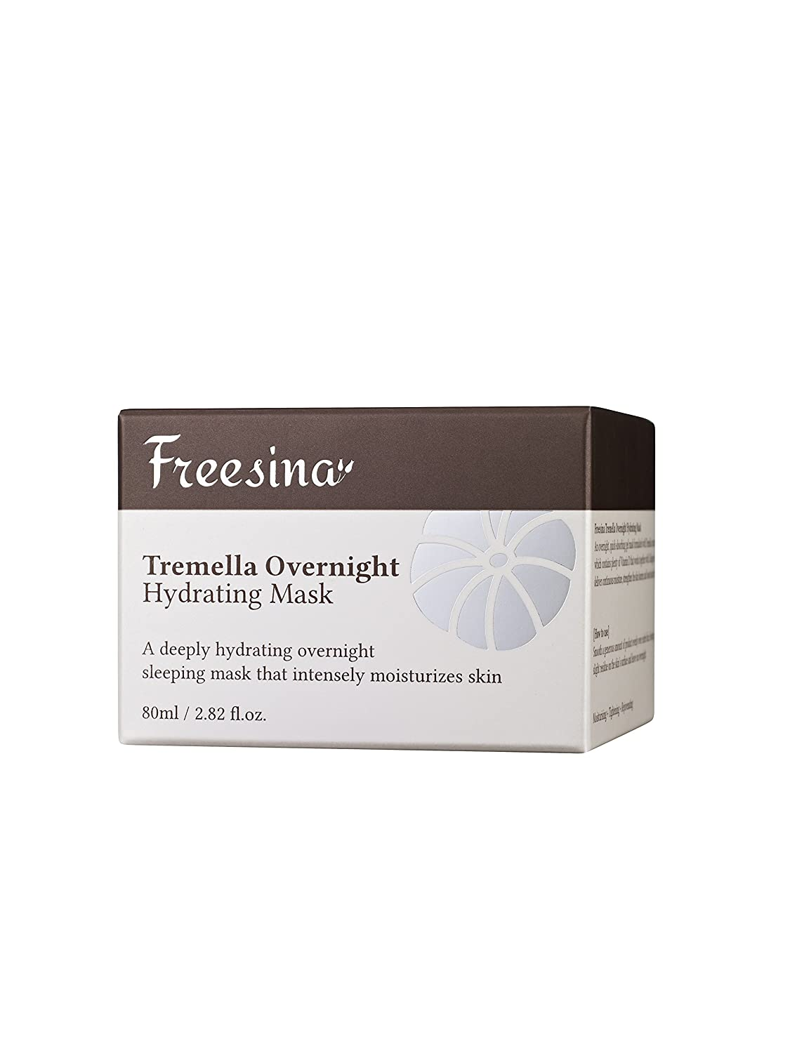 Korean Freesina All Natural Tremella Extract And Hyaluronic Acid Overnight Hydrating Mask Rich Moisture, Wrinkle Improvement, None Sticky, Gel Cream – 80 ml