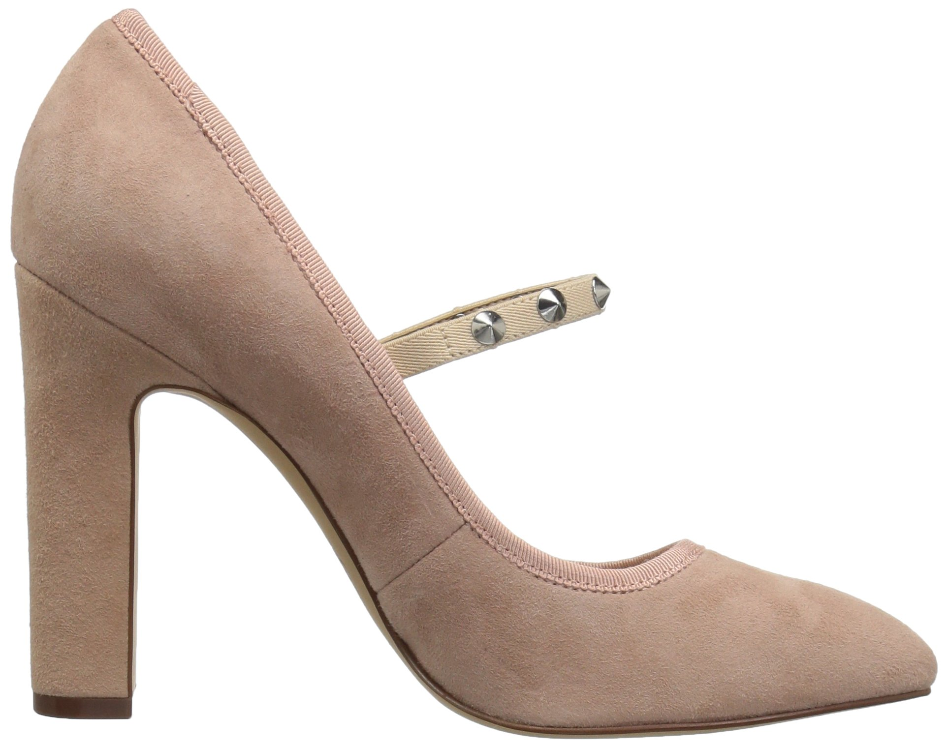 The Fix Women's Shay Studded Mary Jane Dress Pump, Petal Blush, 10 M US by The Fix (Image #7)