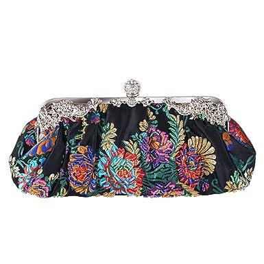 Wallets Beaded Embroidery Evening Bag Hand Handbags Retro Cheongsam