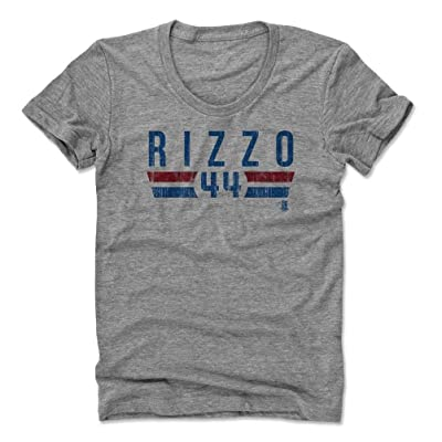500 LEVEL's Anthony Rizzo Women's Tee - Chicago Baseball Fan Gear - Anthony Rizzo Font B