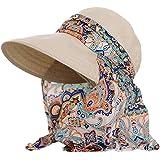 Lanzom Women Lady Wide Brim Cap Visor Hats UV Protection Summer Sun Hats