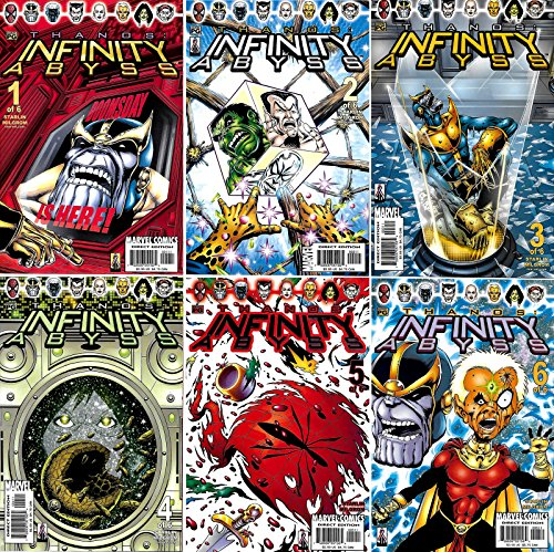 Thanos - Infinity Abyss #1-6 Complete Series (Marvel Comics 2002 - 6 Comics)