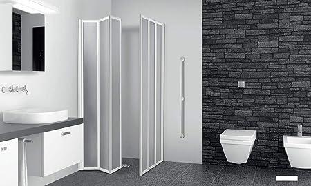 Cabine De Douche D Angle 89 90 89 90 Cm 3 3 Panneaux Pliables Plaques En Acrylique Amazon Fr Bricolage
