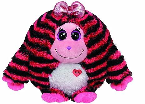 Ty Beanie Monstaz Zoey Monster - Monstruo de peluche a rayas (tamaño extragrande),