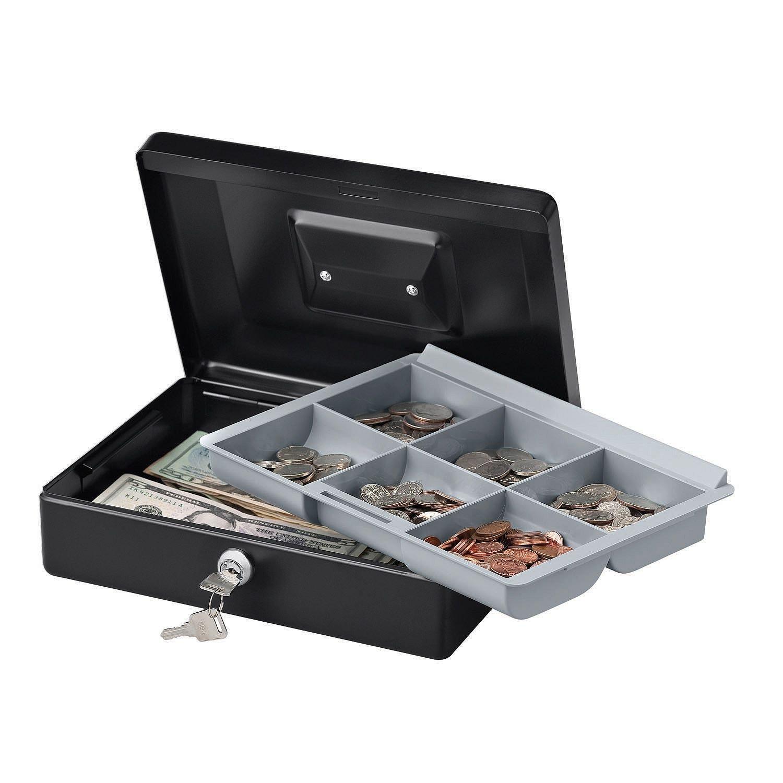 SentrySafe Cash Box, Locking Cash Box (CB-10)