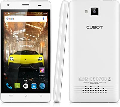 CUBOT Echo - Smartphone Libre Android 6.0 (Pantalla 5.0
