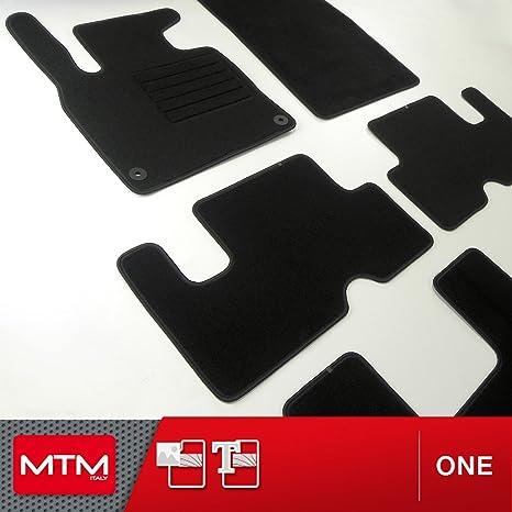 J/&J AUTOMOTIVE Tapis DE Sol Noir Velours Compatible avec Citroen C4 Picasso II 2014-PR/éS