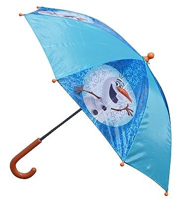 Disney PDI34115-Paraguas Hombre^Mujer Azul azul Talla:Taille unique (Taille fabricant