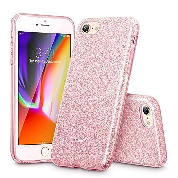coque iphone 8 silicone glitter