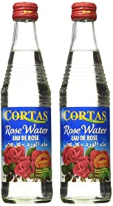 Cortas Premium Rose Water 10 oz - Pack 2