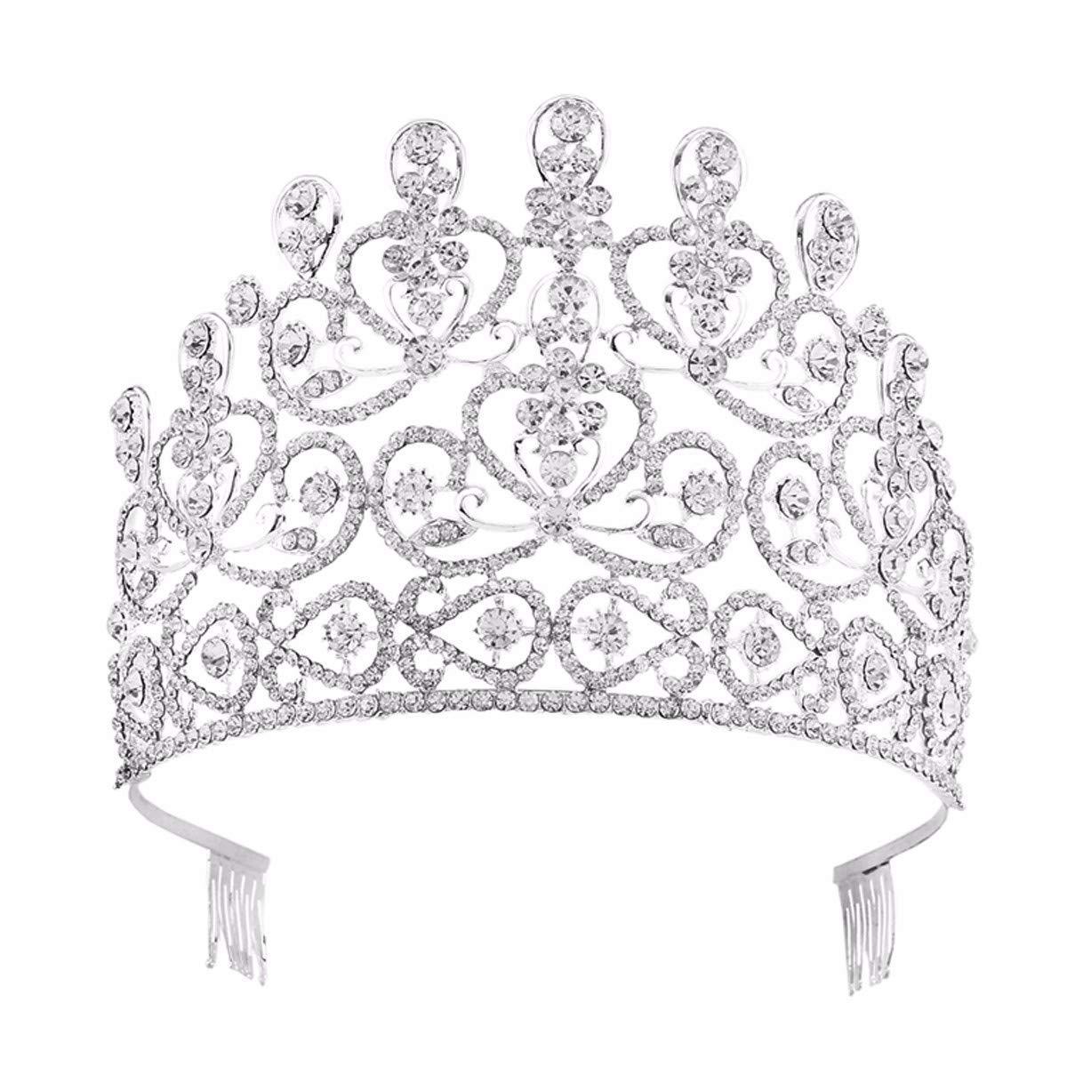 Girls Crown, Beautiful headdress/Top Ornaments Bridal Crown Hair Ornaments Wedding Accessories Diamond Headwear Wedding Gowns And Accessories.