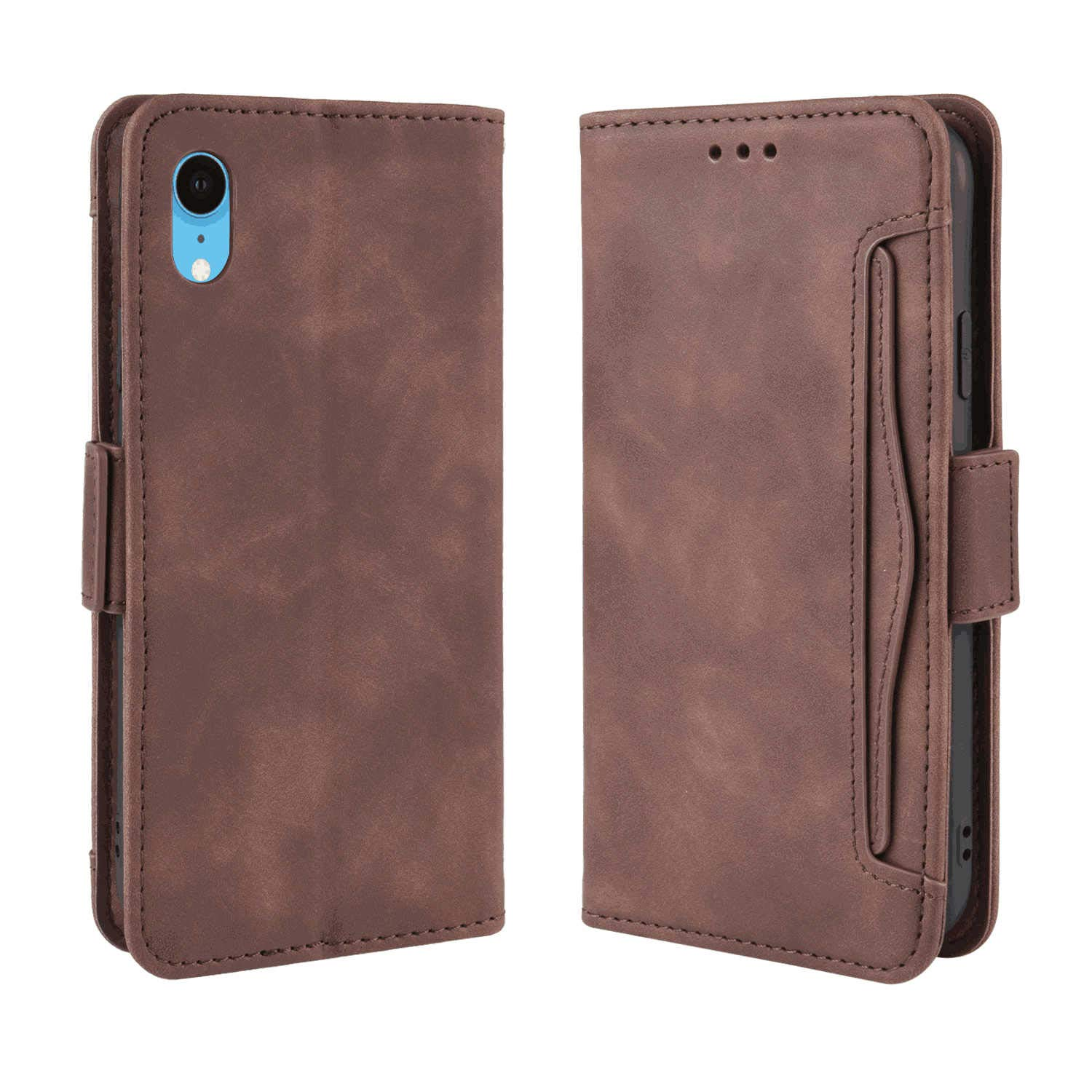 iPhone X Flip Case Cover for Leather Cell Phone Cover Extra-Durable Business Kickstand Card Holders Flip Cover