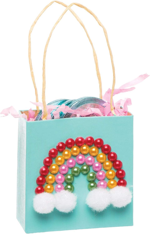 372 St/ück Baker Ross Selbstklebende Perlen in Regenbogenfarben f/ür Kinder zum Basteln und Gestalten