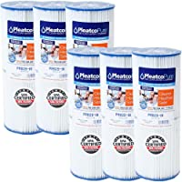 Pleatco PRB25-IN   Paquete de 6 - Cartucho de filtro de agua para Jacuzzi, Piscina, Spa - Filtro laminilla