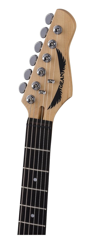 Dean Guitarra Dean Nashvegas Hum Hum cuerpo sólido de la guitarra eléctrica clásica - Negro: Amazon.es: Instrumentos musicales