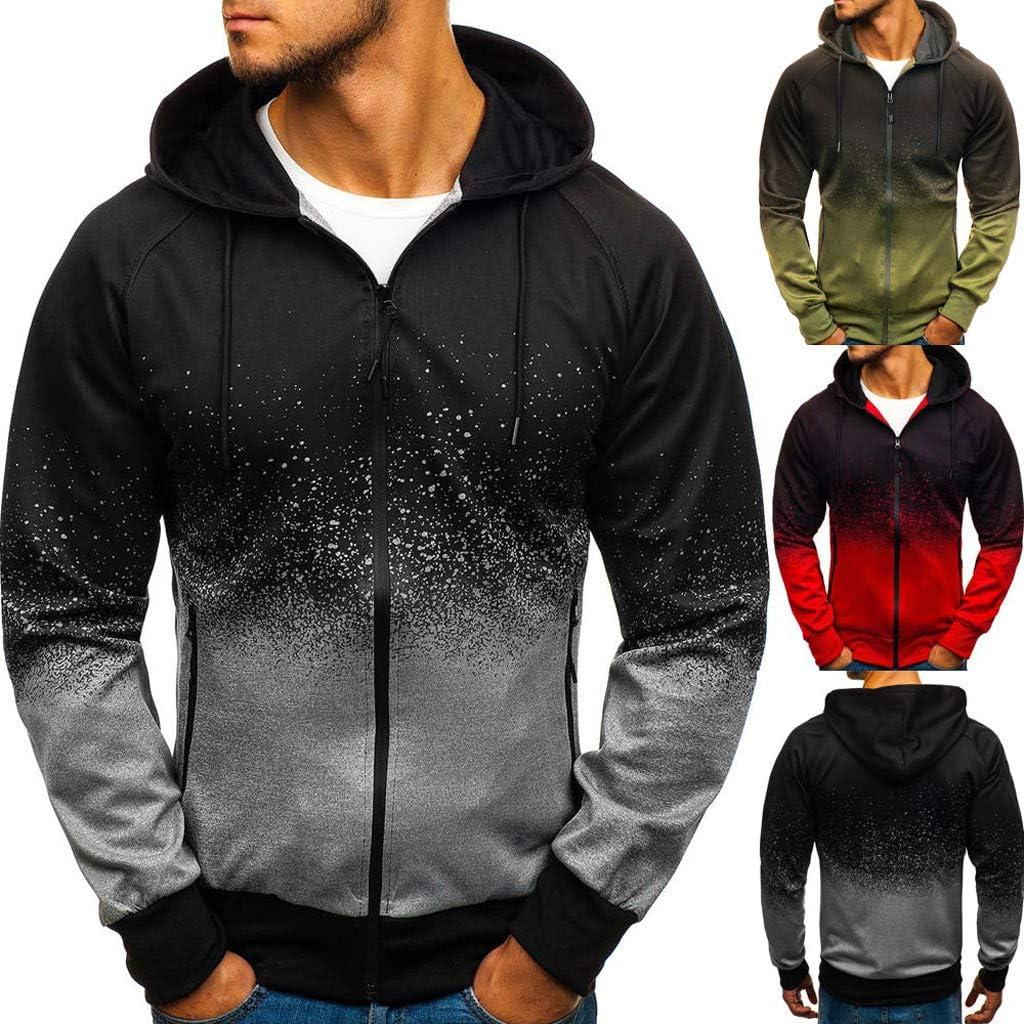 Leegor Men Cotton Patchwork Hoodie Mens Long Sleeve Hooded Sweatshirt Casual Pullover Sportswear
