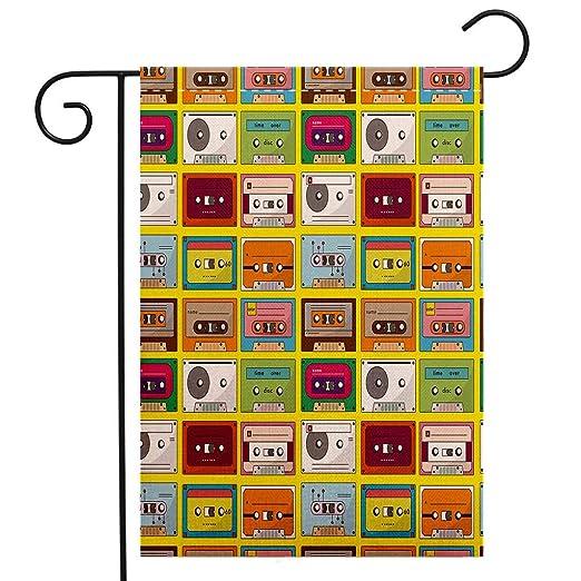 BEIVIVI Bandera de jardín de Doble Cara, decoración de 65 ...