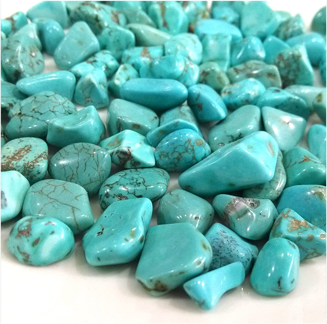 fengshuisale Turquoise Tumbled Stone Gemstone Crystal Healing Rock Wiccan  Supplies Natural Crushed Stones (About 300G) W3059 : Amazon.ca: Patio, Lawn  & Garden