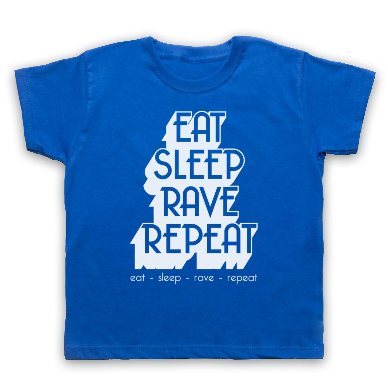 Eat Sleep Rave Repeat Dance Music Slogan Kinder T-Shirt: Amazon.de:  Bekleidung