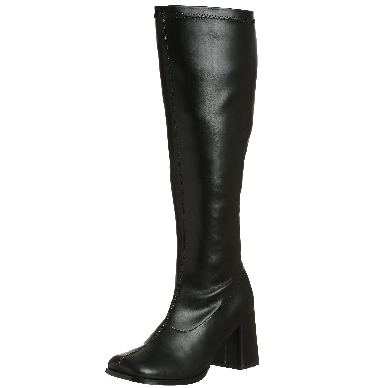 Funtasma Women's Gogo 300 Wide Calf Boot Pleaser USA GOGO-300WC/B