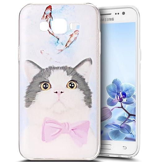 4 opinioni per Custodia Cover Samsung Galaxy J5 2015,Ukayfe Samsung Galaxy J5 2015 Trasparente