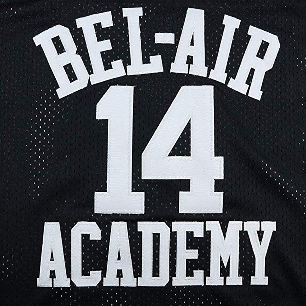 oldtimetown Will Smith #14 Bel Air Academy Fresh Prince Basketball Jersey Embroidered