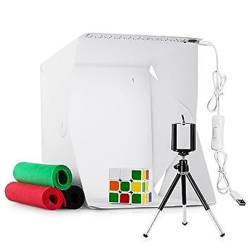 Leuchtkasten Für Fotografie Studio Kit Portable Faltbare Mini Foto Zelt Schm 100% Garantie