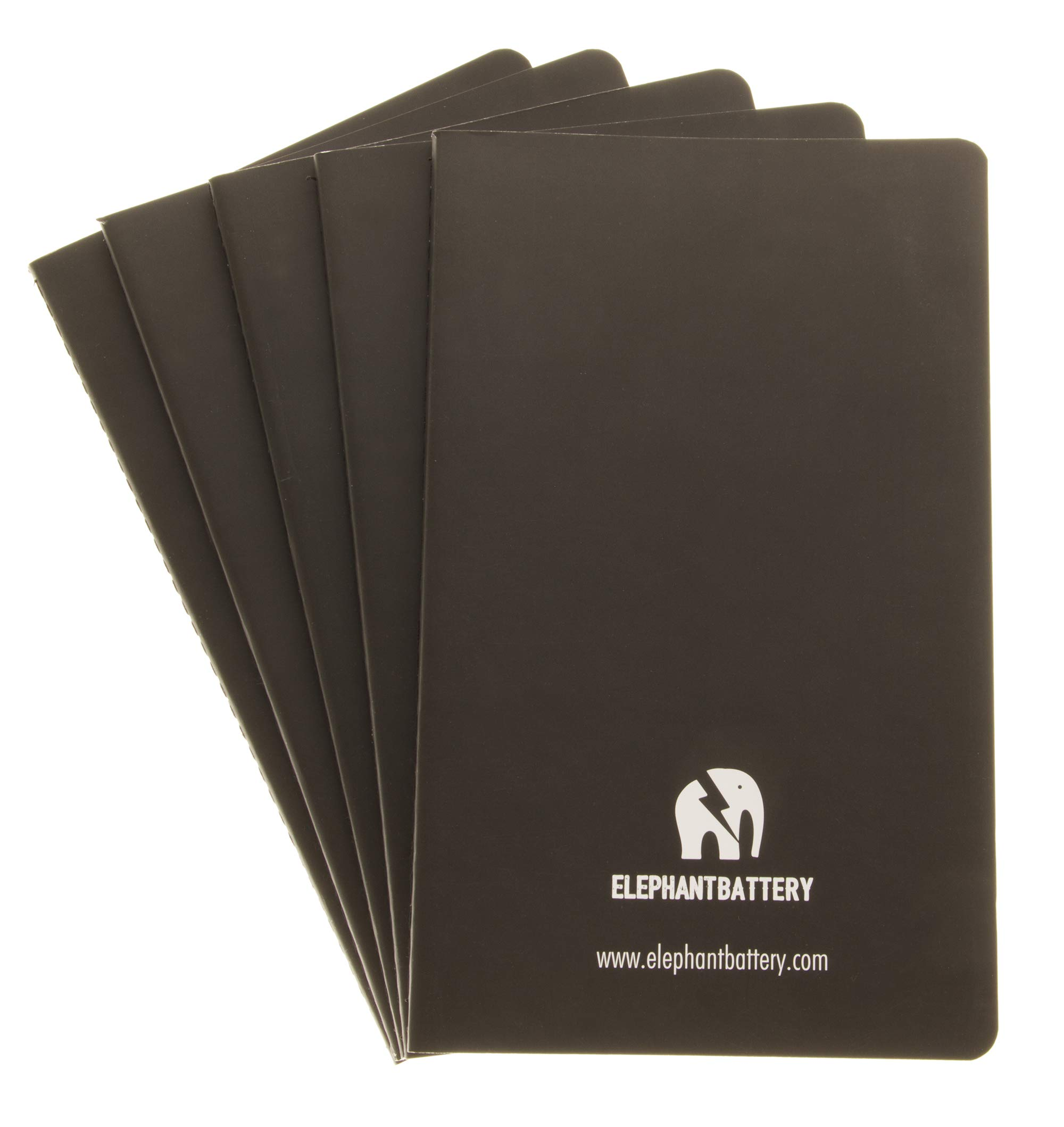 Journal refills - Set of 5 - Lined paper - Diary and planners - 5'' 1/4 8'' 1/4 (13cm21cm)