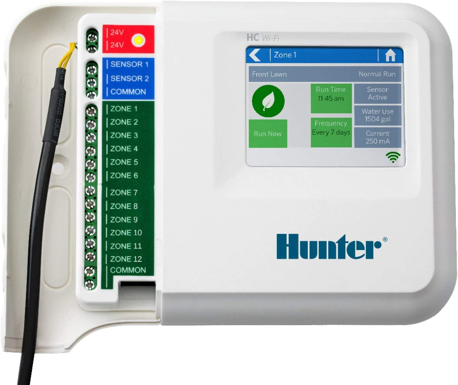 Hunter HC-1200i Hydrawise 12 Zonen WiFi Bew/ässerungsregler HC12