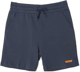 Calvin Klein Men's Terry Sweat Shorts, Blue, S