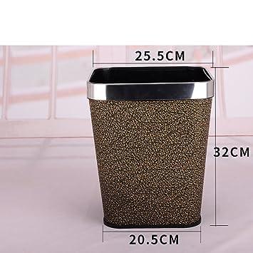DW&HX Papierkorb,Rechteck-abfallbehälter im hause & küche Abfall ...