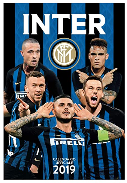 Interit Calendario.Amazon Com Euro Publishing Fc Inter Calendario Verticale