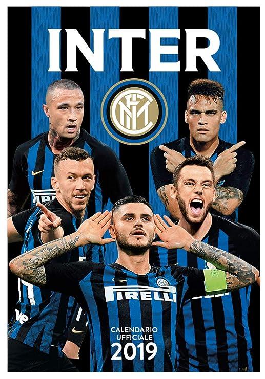 Inter Milan Calendario.Europublishing Inter 2019 Official Calendar 29 X 42 Cm