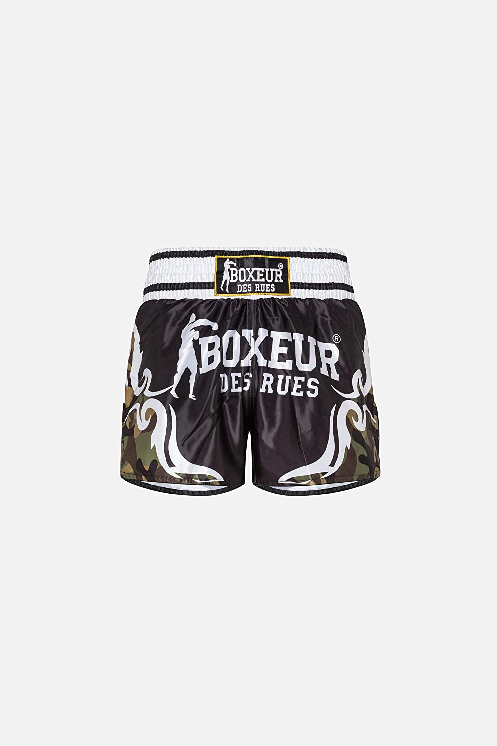 BOXEUR DES RUES Fight Activewear Shorts Kick-Thai con Simboli Tribali Uomo