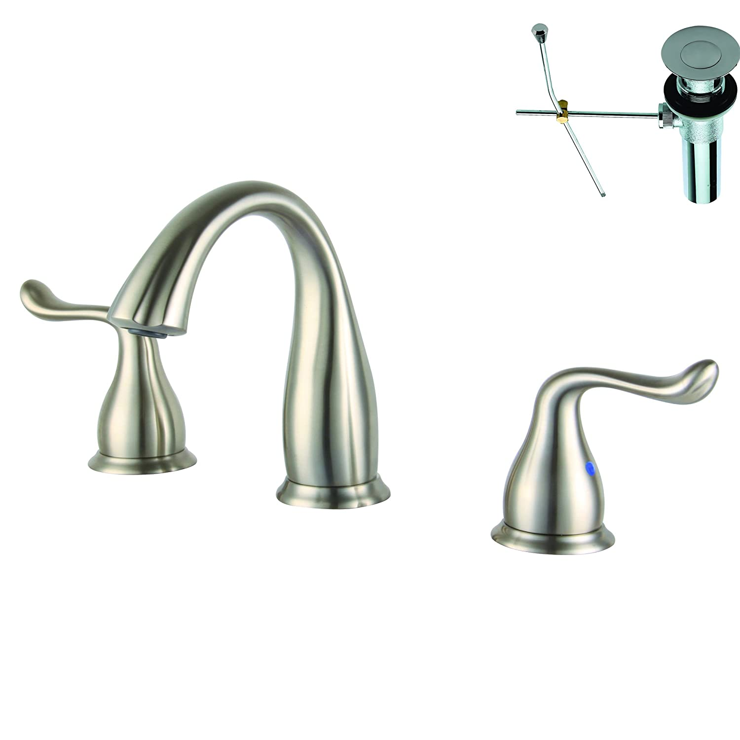Yosemite Home Decor YPH1B258-ORBWD Two Handle 8-Inch Widespread Lavatory Faucet Oil Rubbed Bronze Finish