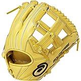 asics(アシックス) 野球 グローブ 硬式 内野手用 右投げ ゴールドステージ スピードアクセル サイズ6 BGH8GR