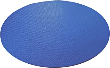 YogaAccessories Extra Thick Round Yoga Mat